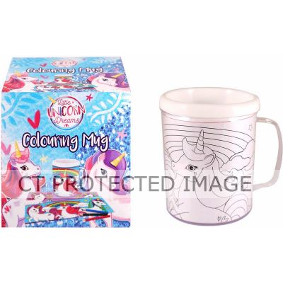 2assorted Unicorn Colouring Mug