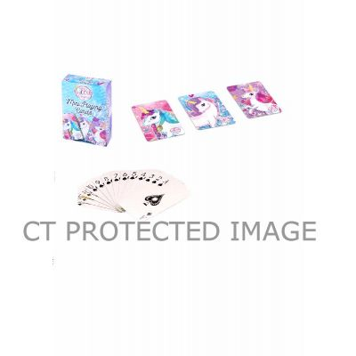 3assorted Unicorn Mini Playing Cards  24s