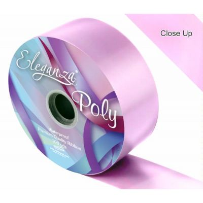 2 Inch Poly Ribbon Fashion Pink (no.22)