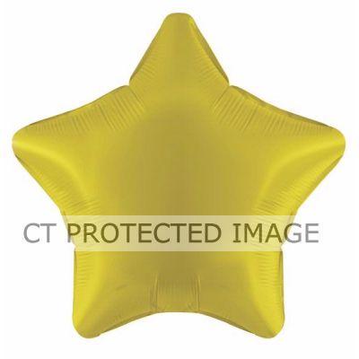 19 Inch Yellow Star Foil Balloon