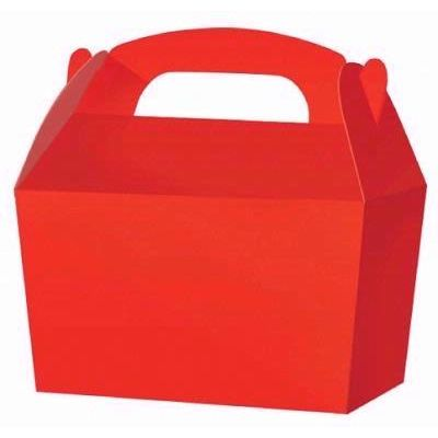Red Treat Boxes (packquantity10)