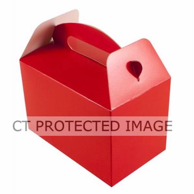 Red Party Boxes (pack quantity 6)