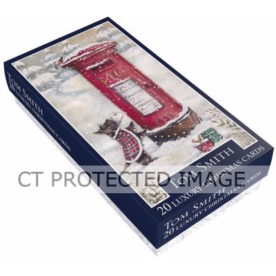 Postbox Slim Boxed Cards (pack quantity 20)