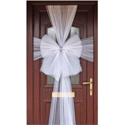 White Eleganza Door Bow