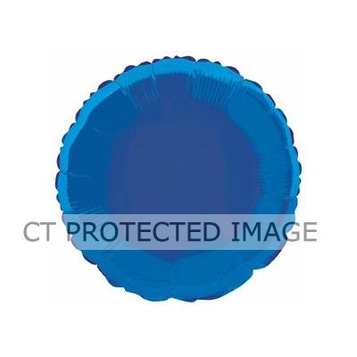 Royal Blue Round 18 Inch Foil Balloon