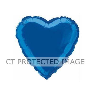 Royal Blue Heart 18 Inch Foil Balloon