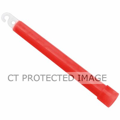 6 Inch Red Glow Lightstick