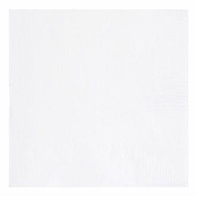 33cm Bright White 33cm Napkins (packquantity50)