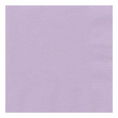 33cm Lavender Luncheon Napkins (packquantity50)