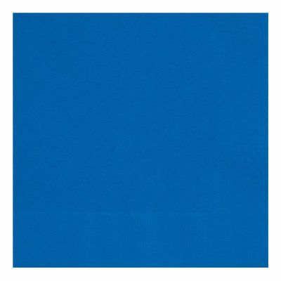 33cm Royal Blue 33cm Napkins (packquantity50)