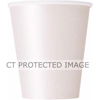9oz Bright White Cups (pack quantity 14)