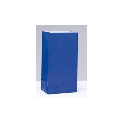 Royal Blue Paper Bags (pack quantity 12)