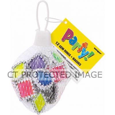 Gem Rings Net Bag (packquantity12)