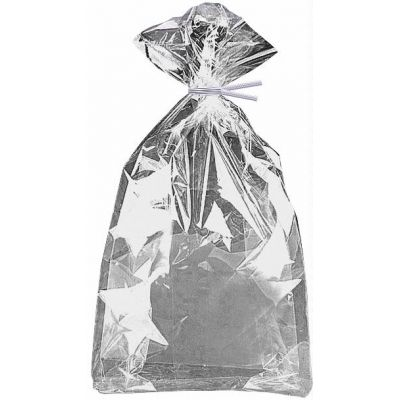 Silver Foil Cello Bags (packquantity20)