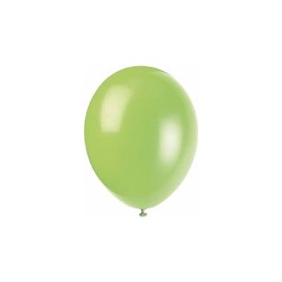 12 Inch Neon Lime Balloons (packquantity10)