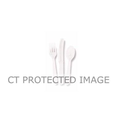 Assorted Bright White Cutlery (packquantity18)