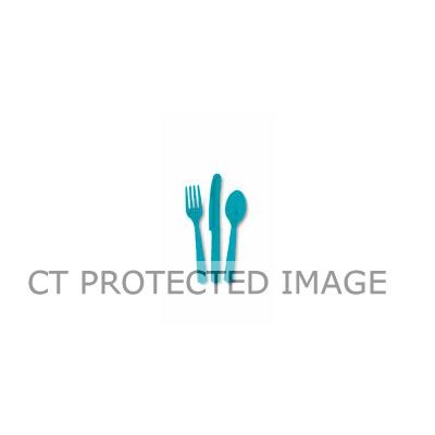 Assorted Caribbean Teal Cutlery (pack quantity 18)