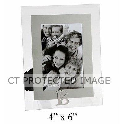 4x6 Inch 18th Glass & Mirror Frame