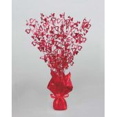 Glitz Red Hearts Centrepiece