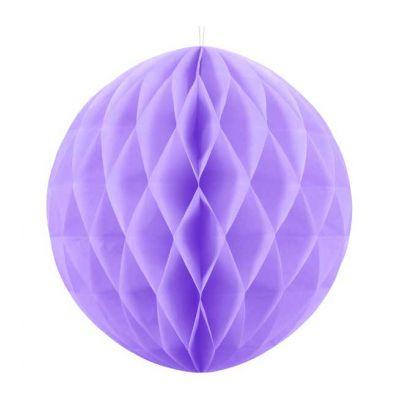 20cm Lilac Honeycomb Ball