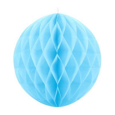 20cm Sky Blue Honeycomb Ball
