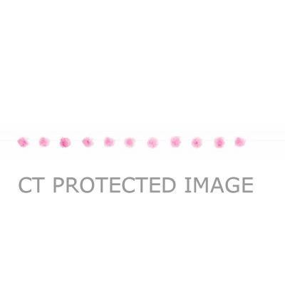 7ft Pink Tulle Pom Pom Garland