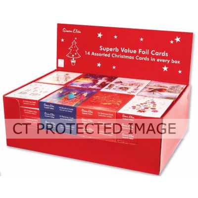 Foil Boxed Cards Compendium   (packquantity14) X48