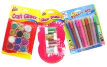 Glitter Glues&Shakers