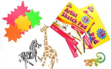 Sketch Pads&Activity Paper