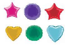 Plain Foil Balloons