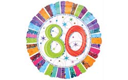 Decorations And 80th Birthday Party Supplies