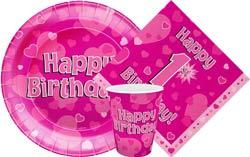 1st Birthday Oaktree Pink