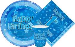 1st Birthday Oaktree Blue