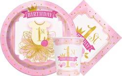 Pink&Gold 1st Birthday