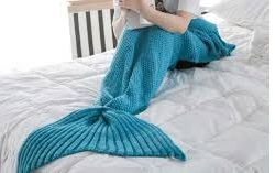 Mermaid Blankets & Slippers