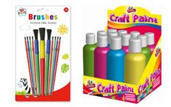 Paints&Paint Brushes