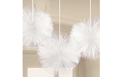 Fluffy Tulle Decorations
