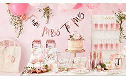 Hen Party Table Decorations