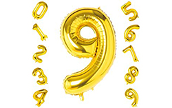 64 inch Giant Number Foil Balloons
