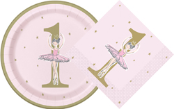 Ballerina Pink&Gold