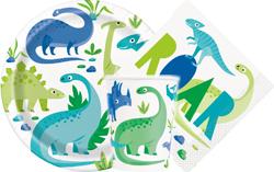 Dinosaur Blue&Green