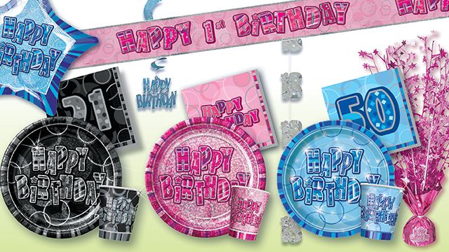 Birthday Party Products