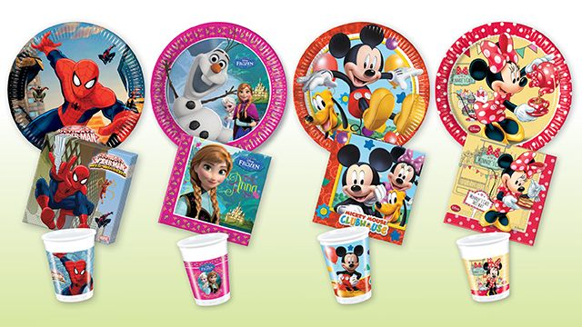 childrens party products